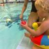 Juklíkování v bazénku Juklík