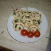 Roládky ze špenátových palačinek,  aneb pochoutka Pepka námořníka