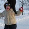Zimní radovánky s dětmi
