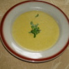 Krémová brokolicová polévka s cizrnou