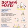 Sportovní den pro rodiny s dětmi od 2 do 5 let