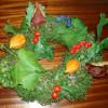 Podzimní věnec – dekorace plná barev