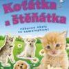 Koťátka a štěňátka – zábavné úkoly se samolepkami